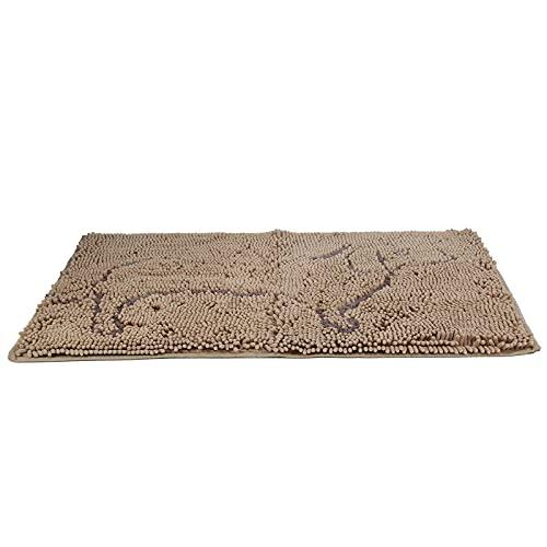SH-RuiDu Alfombrilla de microfibra súper absorbente para gatos lavable a máquina, antideslizante, para pisos, perros, gatos y alimentos