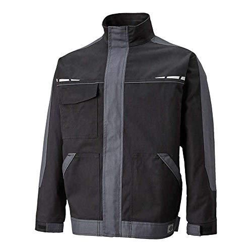 Dickies Mens GDT Cotton Reflective Velcro Zip Premium Workwear Jacket