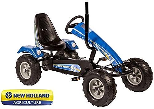 Go Kart Dino Cars Track BF3 New Holland blau Nr. 57910