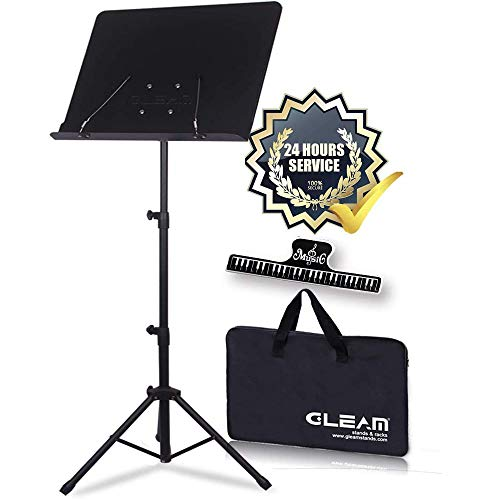 GLEAM Sheet Music Stand Metal wi...