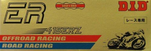 DID ketting 415 ERZ, 140 schakels (standaard goud), open met clipslot