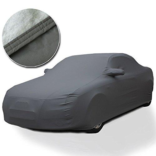 LupexShop Telo COPRIAUTO Auto Copri Auto Felpato 250g Impermeabile con Doppia Cucitura (L)