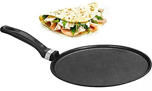 BEPER PE.550 - Piastra per PIADINA 30CM PRESSOFUSO Crepiera Padella Piastra per Omelette Crepes...