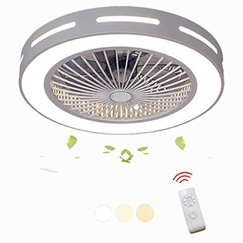 Moderne en creatieve woonkamer/slaapkamer/kantoor/Vivero-verlichting, decoratieve ventilator, led-ventilator met afstandsbediening, plafondventilator met verlichting, energiebesparend