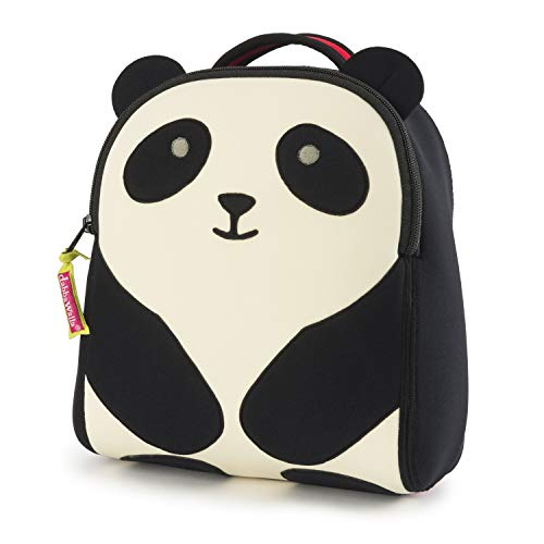 Dabbawalla Bags Toddler Harness Backpack with Removable Safety Leash, Panda Bear