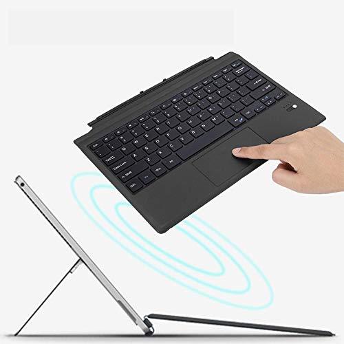 Bluetooth draadloos toetsenbord, ultradunne computer PC-tablet toetsenbord USB multifunctioneel trackpad high-speed transmissie 10 meter ondersteuning voor Android / Windows / iOS-systeem tablet / mobiele telefoon
