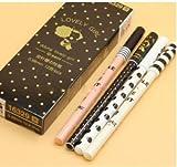 Tutoy 1 Pc Cute Pen Kawaii 0,38 Gel Bolígrafos Tinta De Oficina Escuela De Papelería Suministros De Escritura para Los Estudiantes