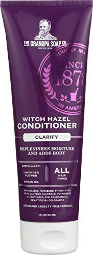 Grandpa's, Witch Hazel Conditioner, Clarify, 8 fl oz (235 ml)