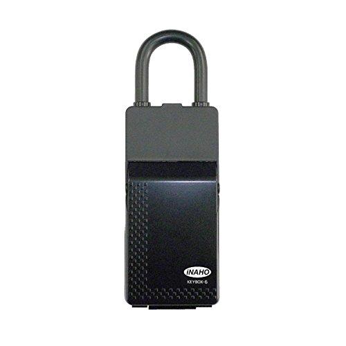 iNAHO キーボックス-6 カギの保管受け渡し時、大容量タイプ、カードサイズ対応