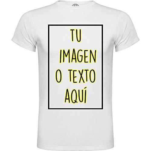 ROLY Camiseta Personalizable | Cualquier Imagen o Texo | Proceso Sublimación (M)