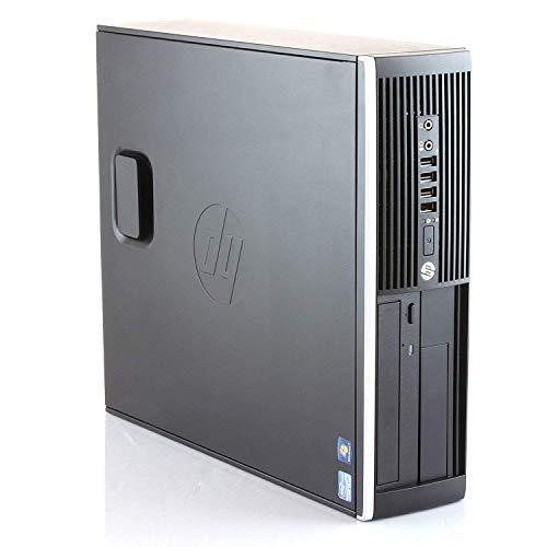 HP Elite 8300 - PC Ordenador de sobremesa (Intel Core i5-3470, 8GB de RAM, Disco SSD de 240GB + 250GB HDD, Lector DVD, HDMI, Windows 10 Pro ES 64) - Negro (Reacondicionado