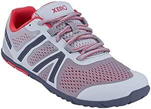 Xero Shoes Women's HFS Running Shoes - Zero Drop, Lightweight & Barefoot Feel, Silver Blush, 9.5