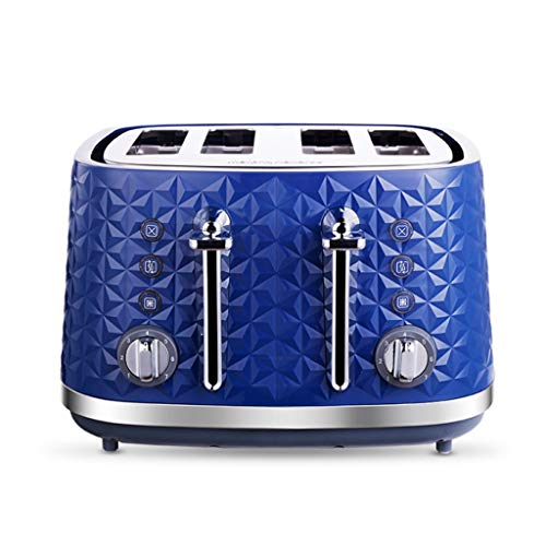 JYDQB Stainless Steel Toaster with Composite Double Groove Control, 4 Slice Extra Wide Slot Toaster Best Rated Prime for Bread Toaster