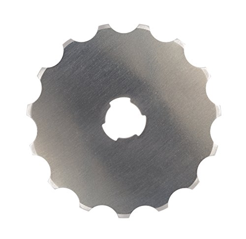 Fiskars 193610-1001 Perforating Rotary Replacement Blade, 45 mm