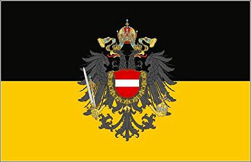 U24 Fahne Flagge Österreich-Ungarn Donaumonarchie 90 x 150 cm