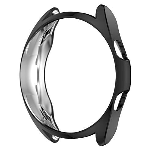 AWADUO Für Samsung Galaxy Watch 3 45MM TPU Schutzhülle Hülle, Schutzhülle Für Samsung Galaxy Watch 3 45MM SM-R840, weich & robust(TPU Schwarz)