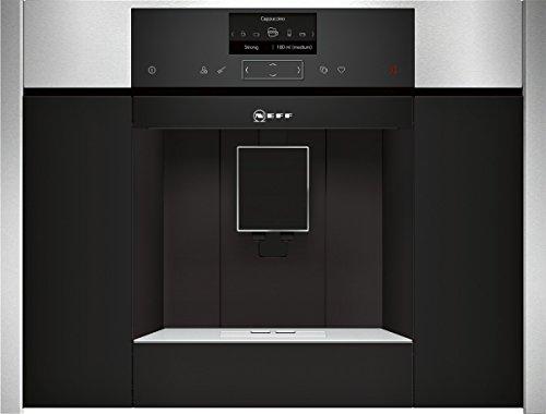 Neff CKS 1561N Machine à café encastrable / 59,60cm/Température de filtration optimale et plein arôme avec le système SensoFlow/Acier inoxydable