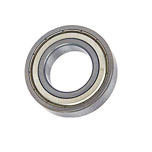 LUANAYUN-PHONE CASE Rodamientos de bolas flexibles y duraderos 6000ZZ 6000-ZZ 10 x 26 x 8 mm 52100 de acero cromado para motor