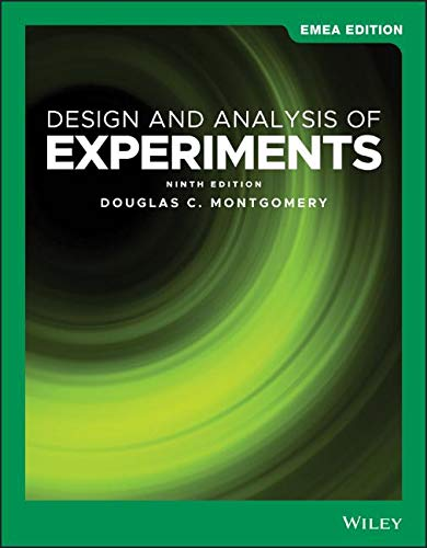 Design and Analysis of Experiments: EMEA Edition
