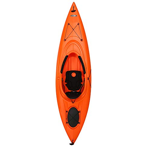 Emotion Guster Sit-Inside Kayak, Orange, 10'