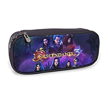 GIPHOJO Large Capacity Pencil Pen Case Bag Pouch Holder Big Storage Descendants 3 Box Organizer for Middle/High School College Students Teen Girl Boy Office Gift