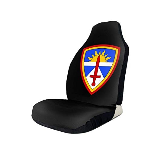 MoonW Test- und Bewertungsbefehl der US-Armee Universeller Vordersitzbezug Eimersitzbezugdecke, Polsterschutz für Auto, SUV