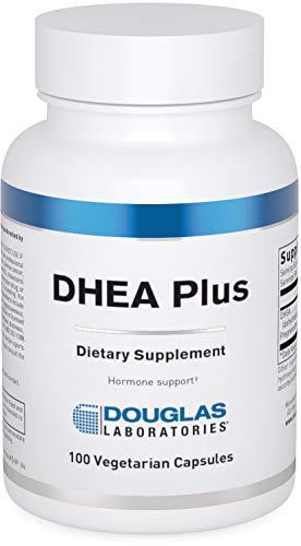 Douglas Laboratories - DHEA Plus - 25 mg. DHEA Plus Pregnenolone Supports Immunity, Brain, Bones, Metabolism and Lean Body Mass - 100 Capsules
