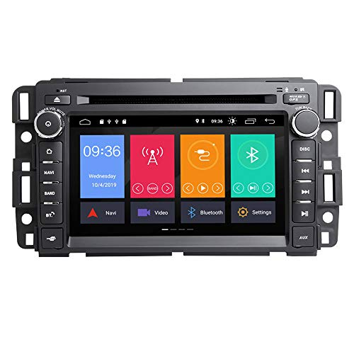 TOOPAI Android 10.0 AutoRadio Car Multimedia Player Stereo GPS DVD for Chevrolet GMC Hummer Yukon Denali Acadia Buick Suburban TahoeExpress