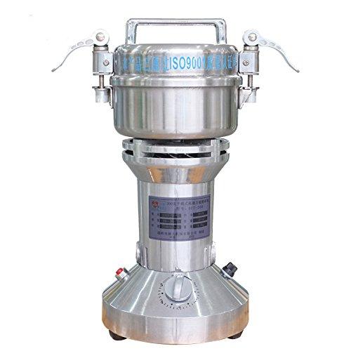 MXBAOHENG DFT-200 elektrische kruidenmolen, draagbaar, medicijnpoeder, 200 g