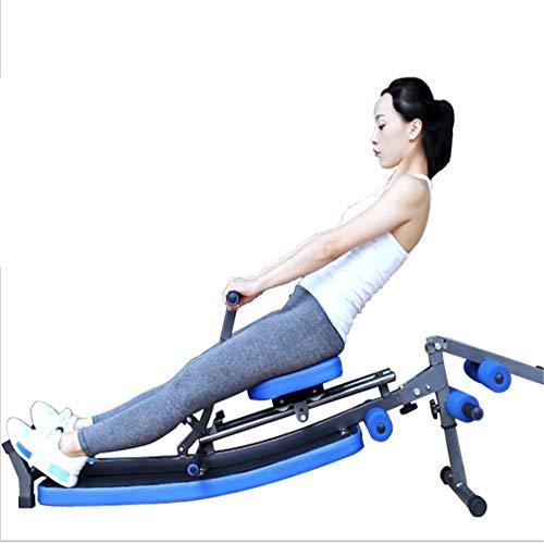 GU YONG TAO Sit-Up-Rudergerät, tragbares, hochwertiges Multifunktions-Rückenbrett-Rudergerät, Fitnessgerät für Faule Bauchmuskeln, für Krafttraining geeignet