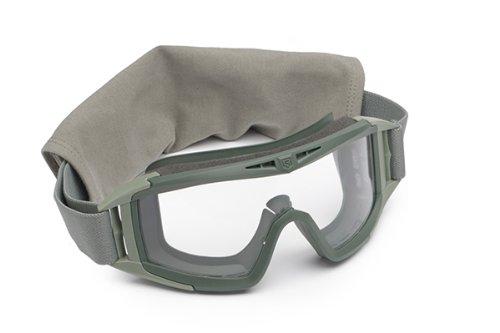 Revision Military Desert Locust Goggle Basic Clear 4-0309-0401 Desert Locust Goggle Basic Clear Foliage Green, Clear