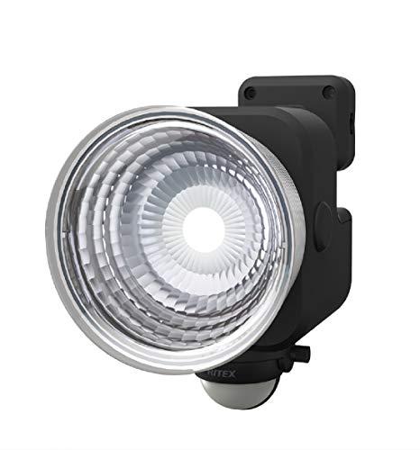 ムサシ RITEX フリーアーム式LEDセンサーライト(3.5W×1灯) 「乾電池式」 防雨型 LED-135