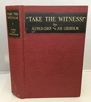 """Hardcover """"Take the witness!"""" Book"""