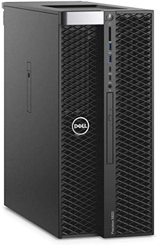 Dell Precision T5820 Workstation Intel Xeon W-2195 2.30GHz (Up to 4.30GHz) 18-Core 24.75MB CPU 128GB DDR4-2666MHz RDIMM Memory 2x1TB NVMe PCIe SSD 2x4TB 7200RPM SAS 3.5in HDD NVIDIA Quadro P5000 16GB