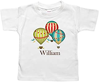 Personalized Baby Bodysuit or Toddler Shirt - Baby Gift - Hot Air Balloons