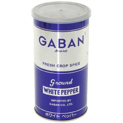 ギャバン ホワイトペッパーパウダー 420g缶
