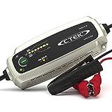 CTEK MXS 5.0, Caricabatterie 12 V 5 A, con Compensazione della Temperatura Integrata, Caricabatterie Auto e Moto, Caricabatterie Intelligente, Manutentore della Batteria con Modalità Ricondizionamento