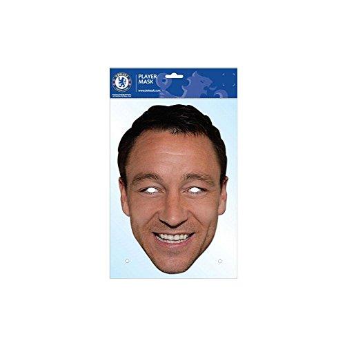 John Terry Chelsea FC Card Mask, Football Club, Impersonation/Fancy Dress