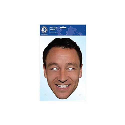 John Terry Chelsea FC Card Mask, Football Club, Impersonation/Fancy Dress