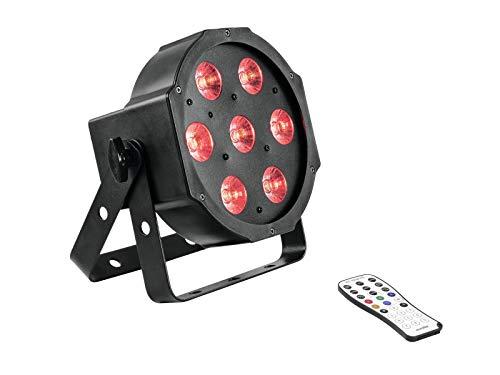 Eurolite Slimline Hcl LED-spot vloerlamp met Rgbaw en UV-kleurmengsel