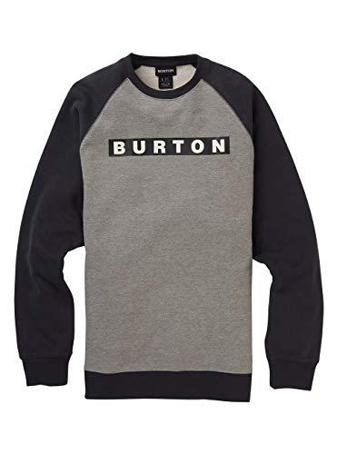 Burton Herren Vault Sweatshirt, Gray Heather, L
