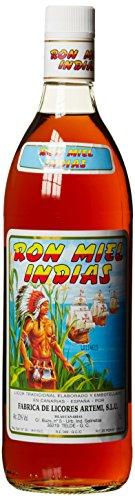 Ron Miel Indias, Honig Rum Likör, Kanarische Inseln (1 x 1 l)