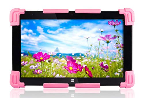 Fusion5 Universal Tablet PC Silicone Gel Case for 9' to 12' - Suitable for 9', 9.6', 10', 10.1', 10.6', 11.1', 11.6', 12' Tablet PCs (Pink)