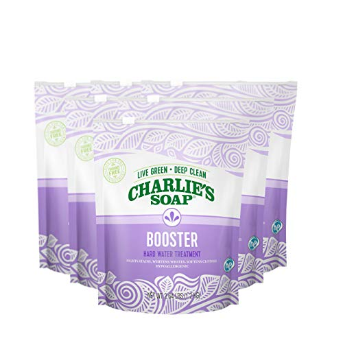 Charlie's Soap - Laundry Booster and Hard Water Treatment (6-Pack)