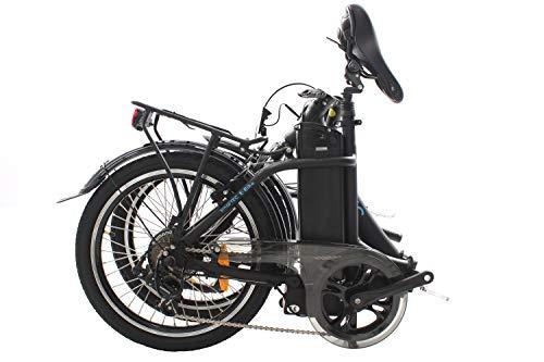 417LqqhyGhL - smartEC Camp-20D Falt Pedelec/E-Bike Klapprad E-Faltrad 20 Zoll mit Samsung Li-Ion Akku 36V/13AH und tiefem Einstieg, max. Belastbarkeit bis zu 125 kg