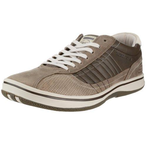 Skechers 50620 - Zapatillas de Deporte de Cuero para Hombre, Color marrón, Talla 39