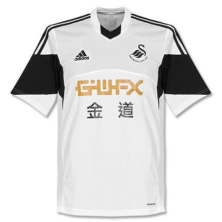 Anstecknadel Swansea City FC Home Trikot 20 13/14 (DE)