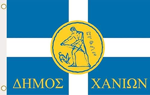 U24 Flagge Fahne Chania Kreta Griechenland 90 x 150 cm