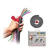 NOVEAU Safe-T 1ST Cable Wire Zipper 34 MM Black - 1.5 Meters Color