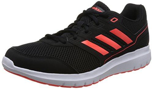 adidas Duramo Lite 2.0, Zapatillas de Entrenamiento Hombre, Negro (Core Black/Solar Red/Footwear White 0), 45 1/3 EU